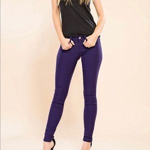 Guess by Marciano Royal Blue Skinny Jeans Size 28